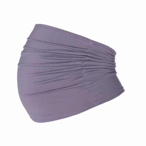 Be MaaMaa Těhotenský pás - šedý, vel. L/XL