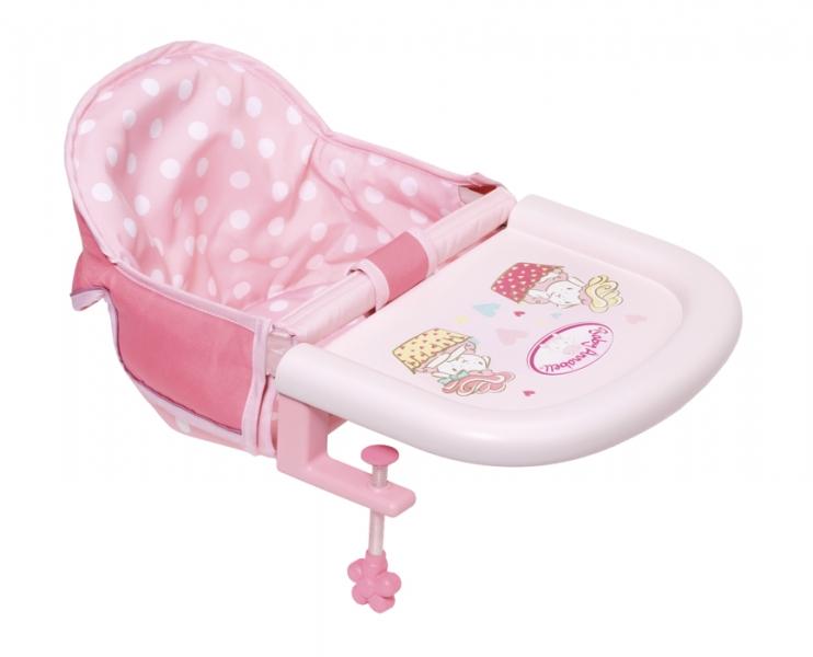 Zapf Baby Annabell Jídelní židlička s uchycením na stůl