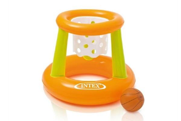 Vodní basketbalový koš nafukovací 67x55cm