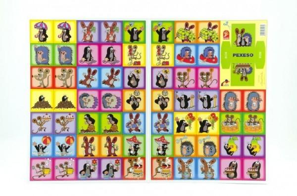 Pexeso Krtek společenská hra 22x30cm