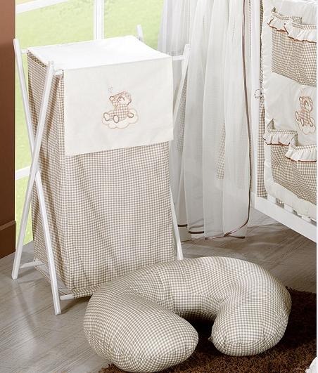 Luxusní praktický koš na prádlo - MRÁČEK hnědý kr.