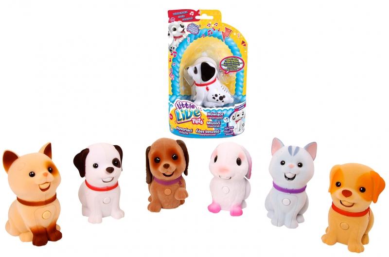 LITTLE LIVE PETS Mluvící mazlíček série 2, 6 druhů