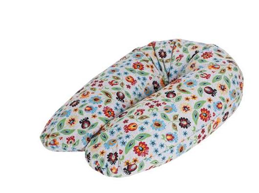 Ceba Kojící polštář - relaxační poduška Cebuška Physio Multi - Folklor