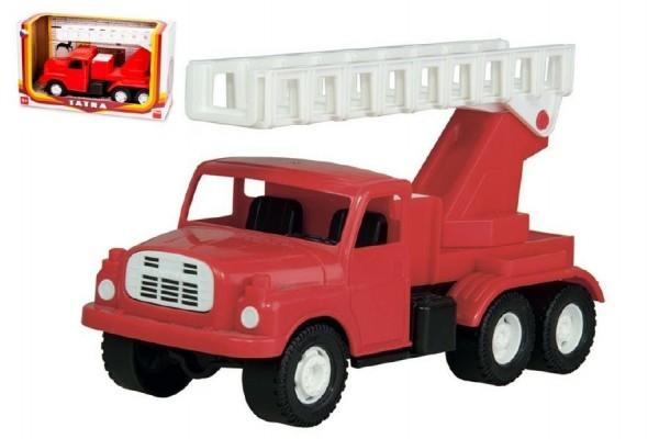 Auto Tatra 148 plast 30cm hasiči v krabici