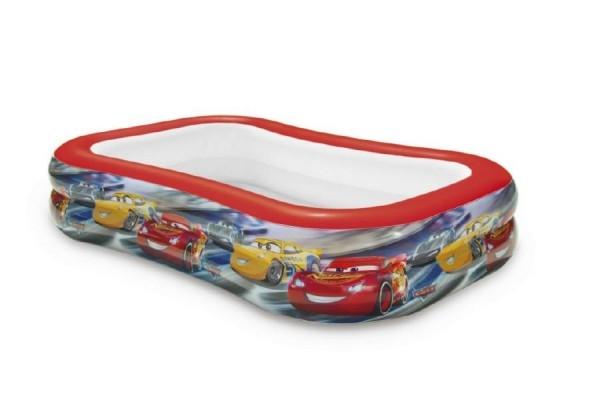 Bazén dětský nafukovací Auta/Cars 262x175x56cm