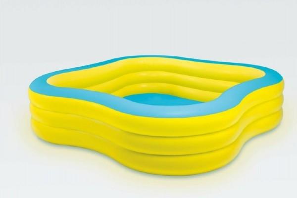 Bazén nafukovací čtvercový 229x229x56cm od 6 let