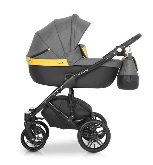 Kočárek Enduro 2018 Expander, 2v1 - yellow