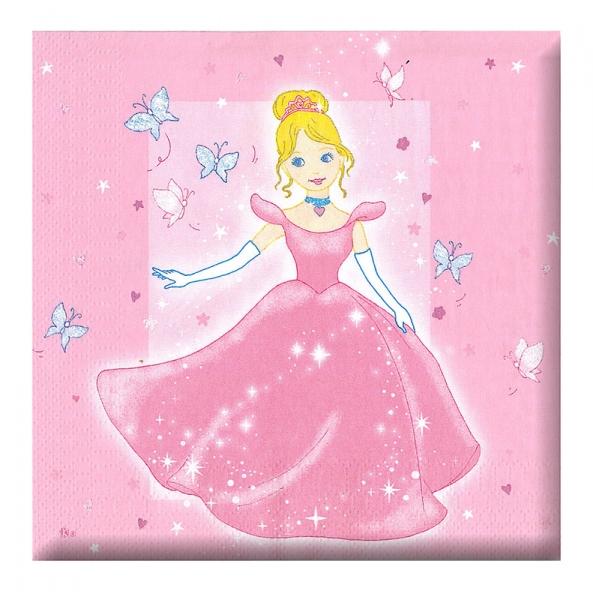 Rappa Ubrousek párty - princezna, 12 ks