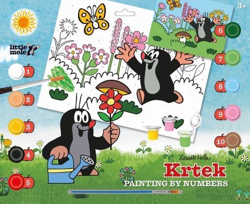Malování dle čísel A3 Krtek