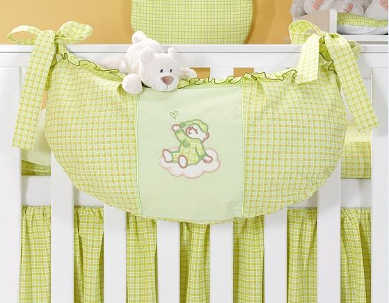 Luxusní kapsář na hračky - Mráček zelený kr.