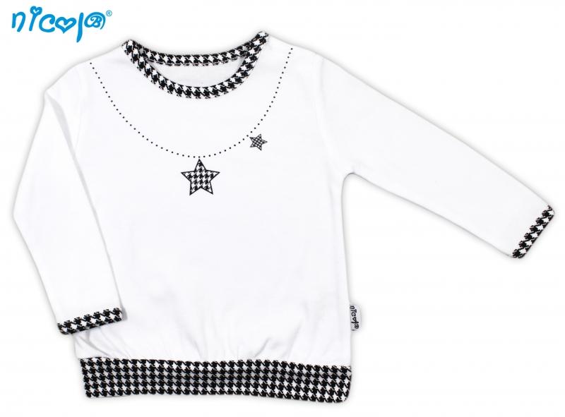 Bavlněné tričko Lena - dlouhý rukáv, roz. 68, Velikost: 68 (4-6m)