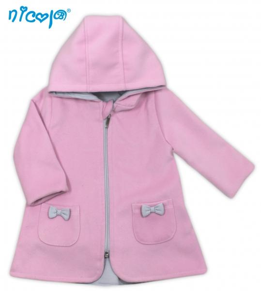 Kabátek Lena - růžový, roz. 98