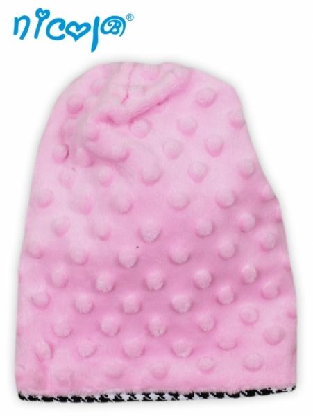 Čepička Minky - Lena - růžová, roz. 1,5-4 let, Velikost: 1,5-4 roky