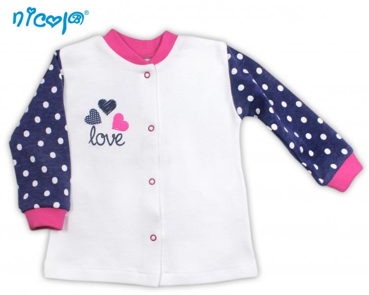 Bavlněná košilka Love, roz. 68, Velikost: 68 (4-6m)