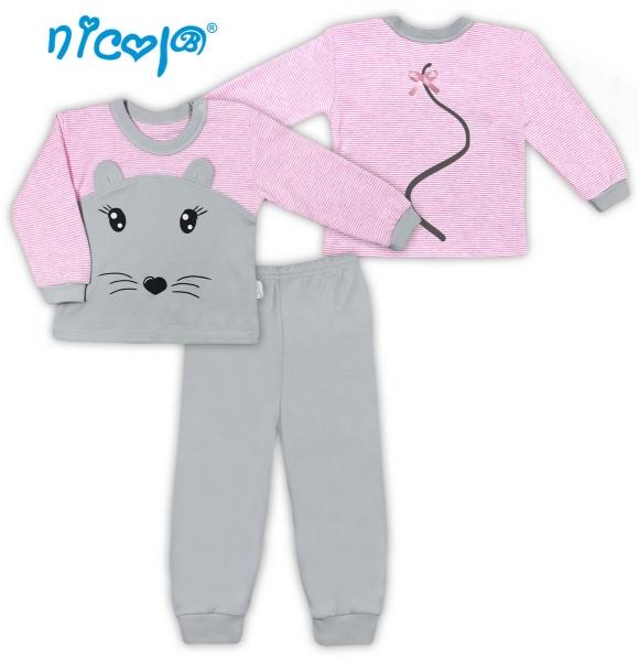 Bavlněné pyžamko Myšička, vel. 86