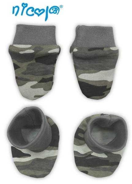 Kojenecká sada - rukavičky s botičkami Koloušek