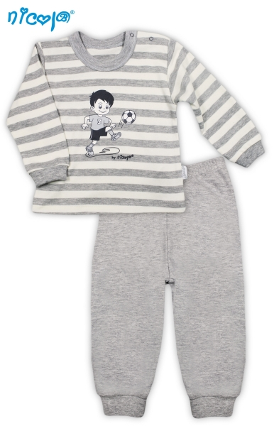 Bavlněné pyžamko Football, vel. 98