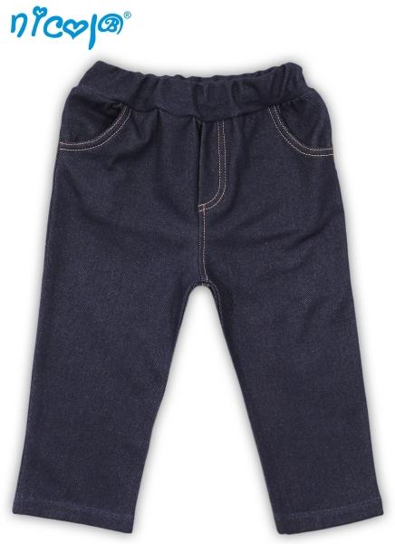 Kalhoty Football - jeans, vel. 86, Velikost: 86 (12-18m)