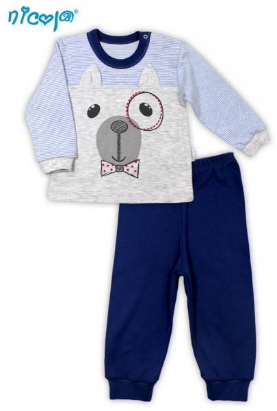 Bavlněné pyžamko Pejsek, vel. 98