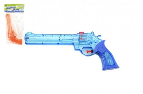 Vodní pistole plast 28cm asst 3 barvy v sáčku