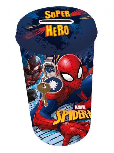 Pokladnička plechová velká Spider-man