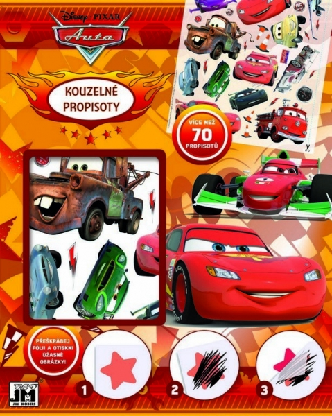 Propisoty kouzelné Cars