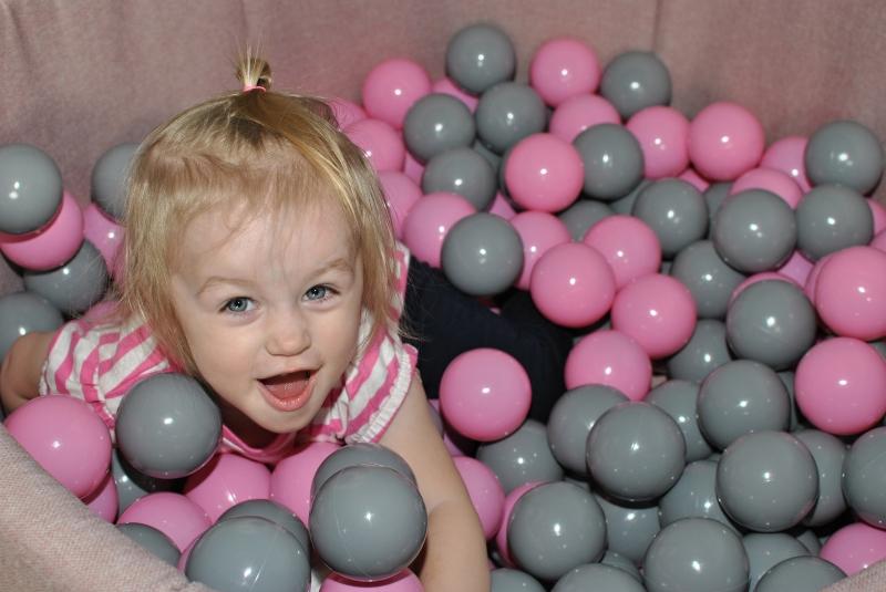 NELLYS Bazén pro děti 90x40cm kruhový tvar + 200 balónků - zelený s balónky, Ce19