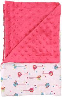 Dětská deka, dečka Bird 80x90 - MINKY, bavlna
