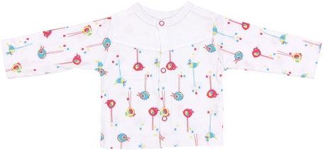 Bavlněná košilka Bird, roz. 62