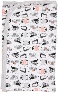 Dětská deka, dečka Penguin 80x90 - bavlna