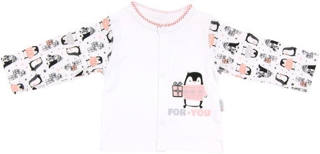 Bavlněná košilka Penguin, Velikost: 56 (1-2m)