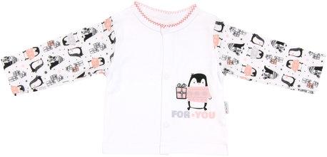 Bavlněná košilka Penguin, roz. 68, Velikost: 68 (4-6m)