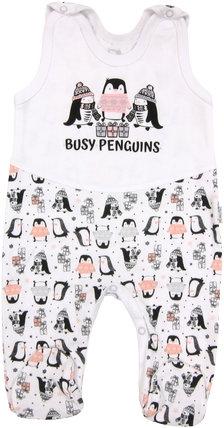 Kojenecké bavlněné dupačky Penguin, roz. 74