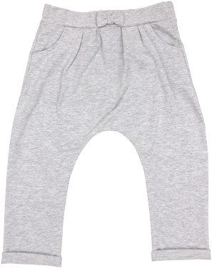 Bavlněné tepláčky Penguin - šedé, Velikost: 74 (6-9m)