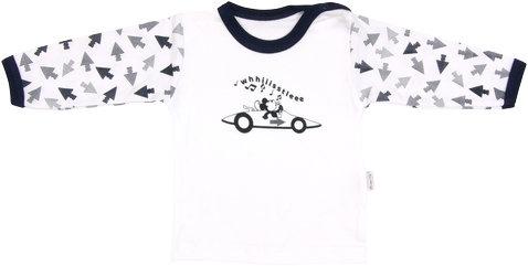 Bavlněné tričko Arrow - dlouhý rukáv, vel. 86, Velikost: 86 (12-18m)