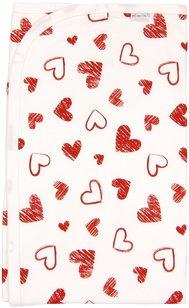 Dětská deka, dečka Heart 80x90 - bavlna
