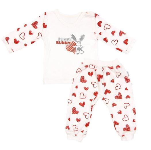 Bavlněné pyžamko Heart