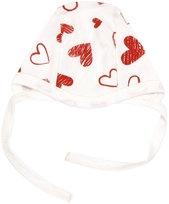 Novorozenecká čepička Heart, roz. 62
