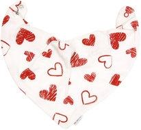 Dětský šátek na krk Heart