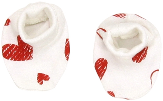 Bavlněné botičky/ponožtičky Heart