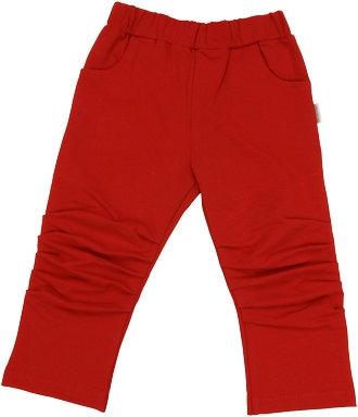 Mamatti Bavlněné tepláčky, kalhoty Arrow- červené, vel. 98