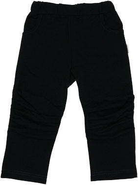 Mamatti Bavlněné tepláčky, kalhoty Arrow - tm. modré, vel. 98vel. 98 (24-36m)