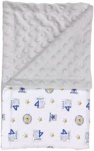 Dětská deka, dečka Four 80x90 - Minky/ bavlna