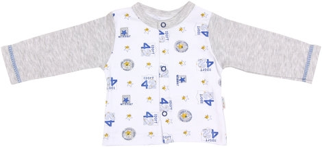 Bavlněná košilka Four, vel. 62