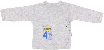 Košilka Four - zapínání bokem, Velikost: 56 (1-2m)