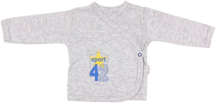 Košilka Four - zapínání bokem, vel. 62, Velikost: 62 (2-3m)
