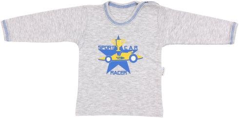 Bavlněné tričko Four - dlouhý rukáv, vel. 80, Velikost: 80 (9-12m)