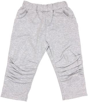 Bavlněné tepláčky, kalhoty Four - šedé, vel. 80, Velikost: 80 (9-12m)