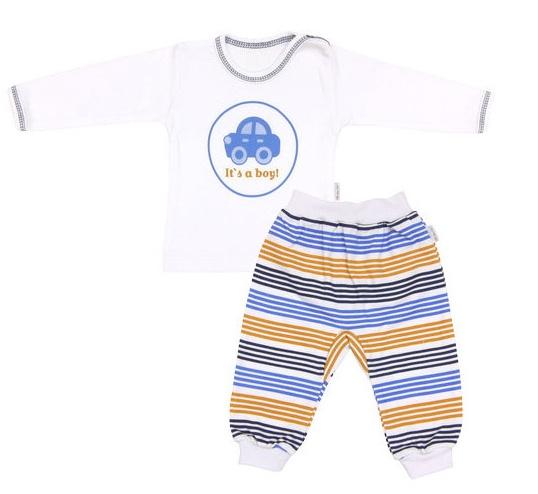 Mamatti Bavlněné pyžamko Boy, vel. 86vel. 86 (12-18m)