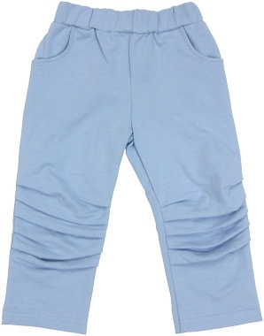 Bavlněné tepláčky, kalhoty Boy - modré, vel. 80, Velikost: 80 (9-12m)